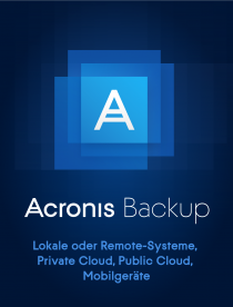 Acronis Backup 12.5 Advanced Server Lizenz inkl. AAS (1-4) -  /   ,