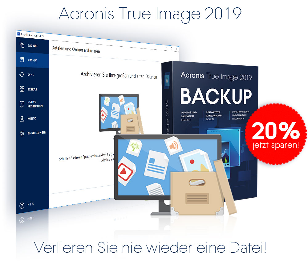Acronis True Image 2019 Cyber Protection